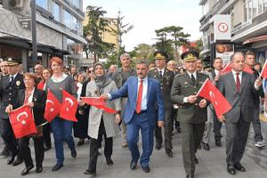 Samsun'da Cumhuriyet Bayramı'nın 95. Yıldönümü Kutlama Programı