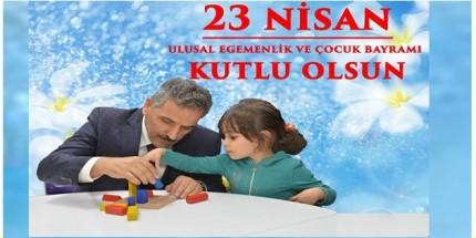 Samsun Valisi Osman Kaymak'tan 23 Nisan Mesajı