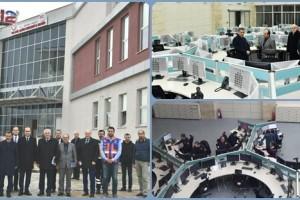 İçişleri Bakanlığı Samsun 112 Acil Çağrı Merkezi Çağrı Alımına Başladı