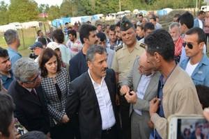 Vali Osman Kaymak, Mevsimlik Tarım İşçilerine Taziye Ziyaretinde Bulundu