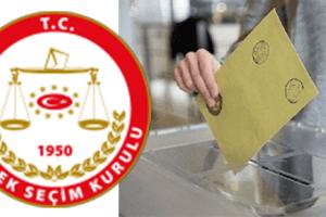 YSK, Seçime Katılacak Partileri Açıkladı