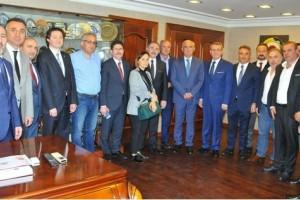 Yusuf Ziya Yılmaz'dan Samsun TSO Yönetimine Ziyaret