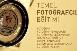 Gençlere Temel Fotoğrafçılık Eğitimi Verilecek