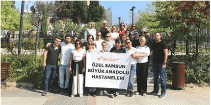 Samsun Büyük Anadolu Hastaneleri Çalışanları Çanakkale'de