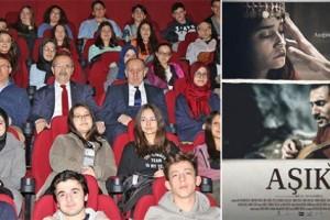 """""""Âşık"""" Filmi Bafra'da İlgi İle İzlendi"""