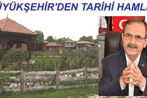 """Başkan Zihni Şahin; """"Tarihi Değerlerimizi Turizme Kazandırıyoruz"""""""
