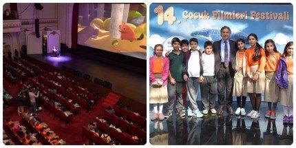 14. Çocuk Filmleri Festivali Başladı