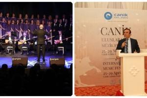 Canik'te Uluslararası Müzik Festivali Başladı