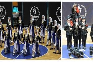 Halk Oyunları Şampiyonası'nda 6 Kupa Büyükşehir'in Oldu