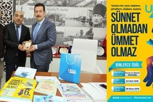 İlkadım'da 6. Ufka Yolculuk Bilgi ve Kültür Yarışması'nın Protokolü İmzalandı