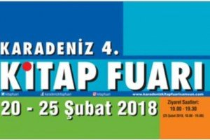 TÜYAP Karadeniz 4. Kitap Fuarı Etkinlik Programı Açıklandı.