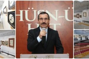 """Hüsn-ü Hat Sergisi"" Fatsa'da Açıldı"