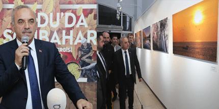 """""""Ordu'da Sonbahar"""" Fotoğraf Sergisi Fatsa'da Açıldı"""