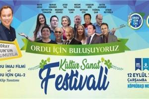 Ordulular Kültür ve Sanat Festivalinde Buluşacak