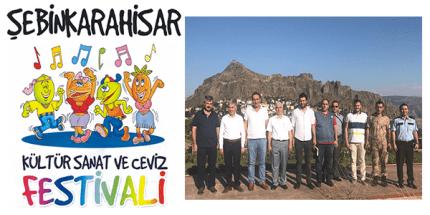 Şebinkarahisar'da Kültür, Sanat ve Ceviz Festivali Yapılacak