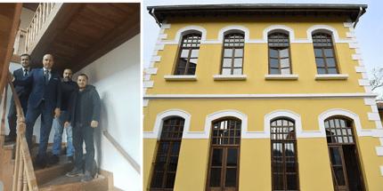 Tekkeköy'ün Yakın Tarihinin Sergileneceği Binaların Restorasyonu Bitti