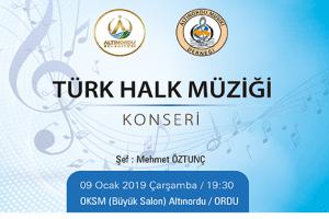 Altınordulular Türk Halk Müziğine Doyacak