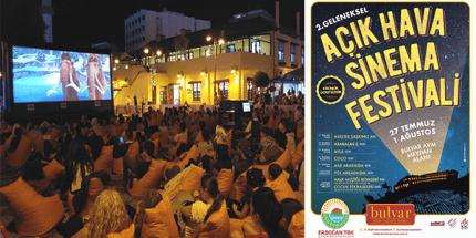 2. Geleneksel Açık Hava Film Festivali Başlıyor