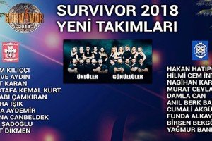 Survivor 2018'de Yeni Oluşum