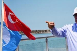 Mavi Bayraklar Bu Yıl Samsun'dan Yükselecek