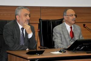 """OMÜ'de """"Araştırma Üniversitesi Olmak"""" Konulu Konferans"""