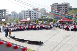 OMÜ Vakfı Koleji Yeni Eğitim ve Öğretim Yılına Törenle Başladı