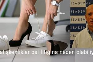 Ayakkabılarınızı Sakın Böyle Giymeyin