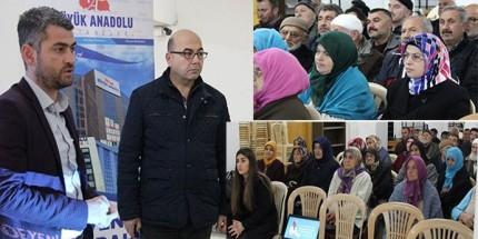 Büyük Anadolu Hastaneleri'nden Terme'de Sağlık Konferansı