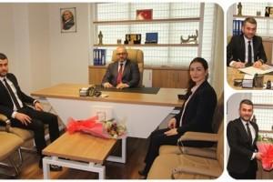 B. Anadolu Hastaneleri'nden Samsun İnternet Gazetecileri Cemiyeti'ne Ziyaret