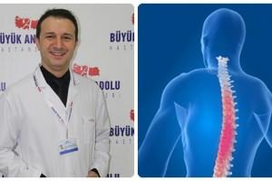Büyük Anadolu Hastaneleri'nden Bel ve Boyun Fıtığı Uyarısı