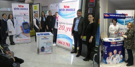 Büyük Anadolu Hastaneleri'nde 'Dünya Diyabet Günü' Etkinliği