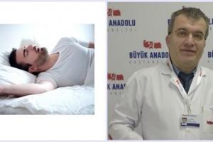 Büyük Anadolu Hastaneleri'nden Uyku Apnesi Uyarısı