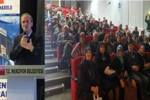 Büyük Anadolu Hastaneleri'nden Merzifon'da Sağlık Konferansı