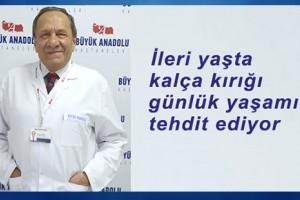 Büyük Anadolu Hastaneleri'nden 'Kalça Kırığı' Uyarısı
