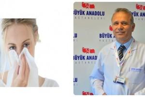 Büyük Anadolu Hastaneleri'nden 'Alerjik Nezle ve Astım' Uyarısı