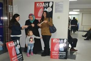 Büyük Anadolu Hastaneleri'nden KOAH Farkındalığı