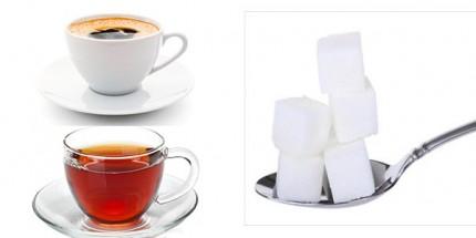 Şeker Tüketimini Azaltmaya Çay ve Kahveden Başlayın