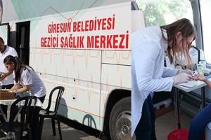 Belediye Sağlık Merkezinde 1 Yılda 7340 Hastanın Muayenesi Yapıldı