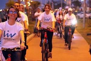 Liv Hospital'da Bisiklet Etkinliği