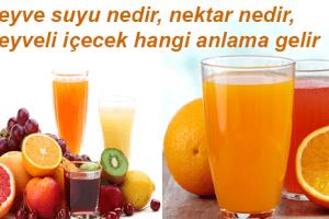 Meyve Suyunda Meyve Oranı Azaltılamaz