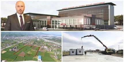 Tekkeköy'e Yapılacak Devlet Hastanesi Temel Aşamasına Yaklaşıyor