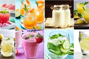 Düşük Kalorili  Yaz İçecekleri