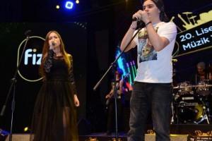 Samsunlu Liseliler Ankara'da Sahne Aldı