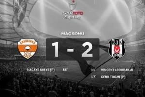 Beşiktaş Seriyi Adana'da da Sürdürdü