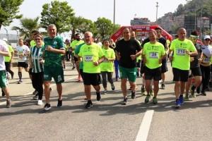 Giresun Aksu Yarı Maratonuna Büyük İlgi