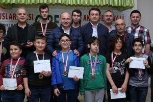 Aksu Festivali Satranç Şampiyonları Belli Oldu