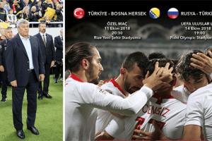 Bosna-Hersek ve Rusya Maçları Aday Kadrosu Açıklandı