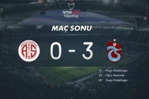 Trabzonspor'un Deplasman Fırtınası Devam Ediyor