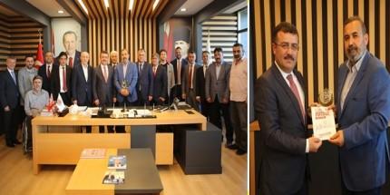 Samsunspor Başkanı Uyanık'tan Taşçı'ya Ziyaret