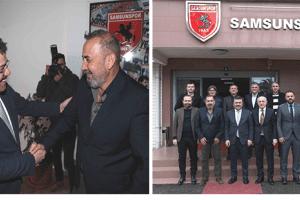 Taşçı'dan Samsunspor'a Ziyaret